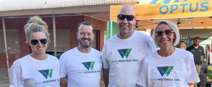 TAFE team make big splash for mental health