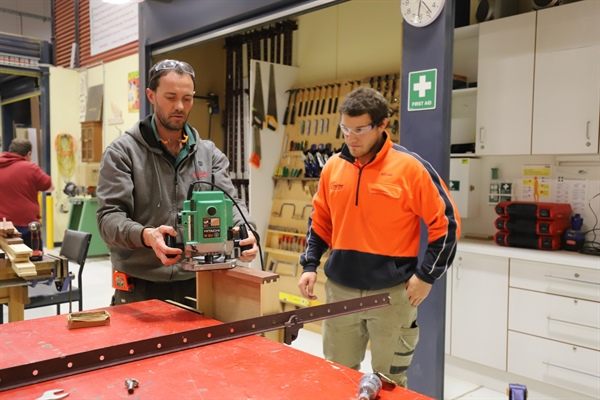 Woodworking Short Course Provides Long Term Skills
