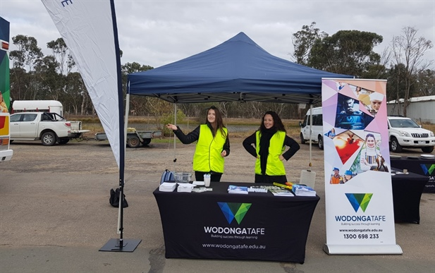 Hands on trades careers expo a success for Wodonga TAFE