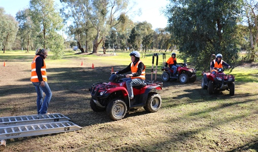 Quad Bike Training Short Course Open for Enrolment