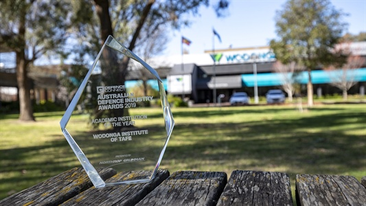 Wodonga TAFE wins Australian Defence Industry Award
