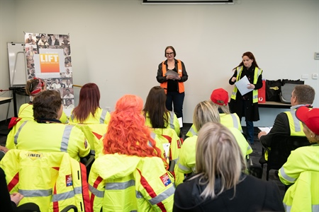 First Superior Heavy Vehicle Licensing (SHVL) Program for women to be delivered by Wodonga TAFE's Transport Division DECA