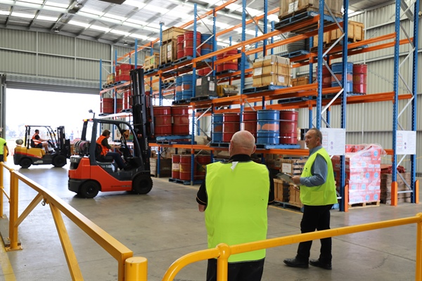Gypsum Board Manufacturers Association (GBMA) Safety Forklift Challenge