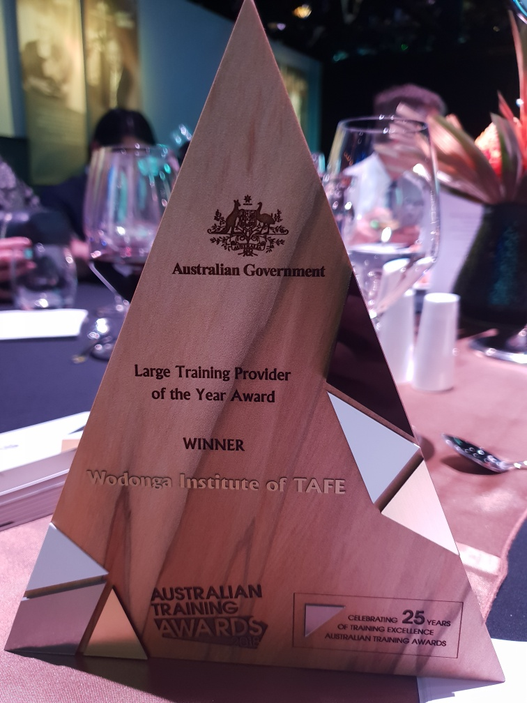 Australian Large Training Provider of the Year 2018: Wodonga TAFE